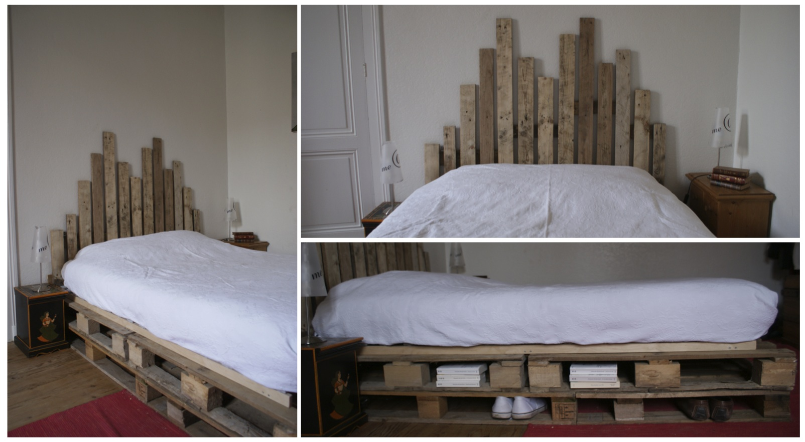 tete de lit en bois pas cher. Black Bedroom Furniture Sets. Home Design Ideas